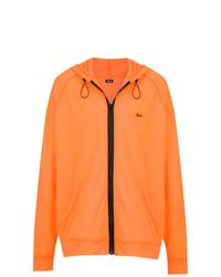 Sudadera con capucha naranja de Àlg