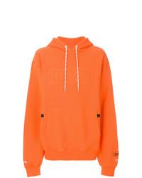 Sudadera con capucha naranja de Heron Preston