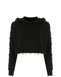 Sudadera con capucha negra de Andrea Bogosian