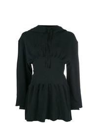 Sudadera con capucha negra de Ann Demeulemeester