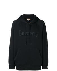 Sudadera con capucha negra de Burberry