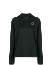 Sudadera con capucha negra de Karl Lagerfeld