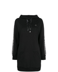 Sudadera con capucha negra de Philipp Plein