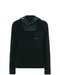 Sudadera con capucha negra de Ralph Lauren Collection
