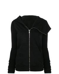 Sudadera con capucha negra de Rick Owens DRKSHDW