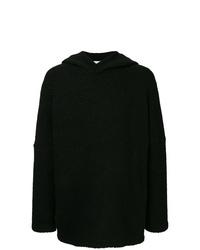 Sudadera con capucha negra de Strateas Carlucci