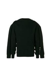 Sudadera con capucha negra de Unravel Project