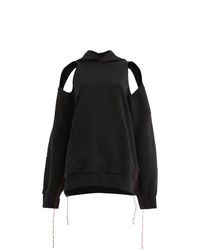 Sudadera con capucha negra de Yang Li