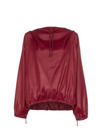 Sudadera con capucha roja de Givenchy