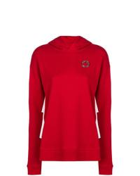 Sudadera con capucha roja de Karl Lagerfeld