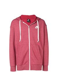 Sudadera con capucha roja de Nike