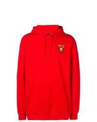 Sudadera con capucha roja de Puma