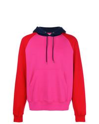 Sudadera con capucha rosa de Cédric Charlier