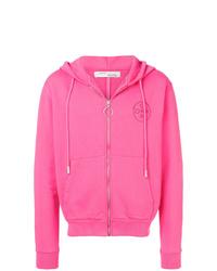 Sudadera con capucha rosa de Off-White