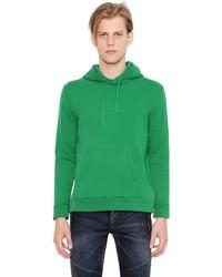 Sudadera con capucha verde de Balmain