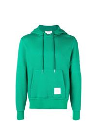 Sudadera con capucha verde de Thom Browne