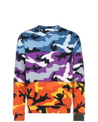 Sudadera de camuflaje en multicolor de Valentino