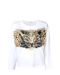 Sudadera de leopardo blanca de Sonia Rykiel