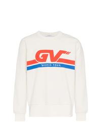 Sudadera estampada blanca de Givenchy