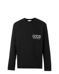 Sudadera estampada en negro y blanco de Golden Goose Deluxe Brand