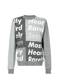 Sudadera gris de Mostly Heard Rarely Seen
