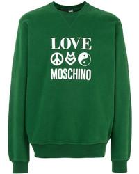 Sudadera verde de Love Moschino
