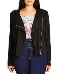 Suede biker jacket original 8878377