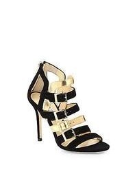 Suede heeled sandals original 4530600
