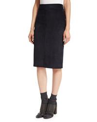 Suede pencil skirt original 7881493