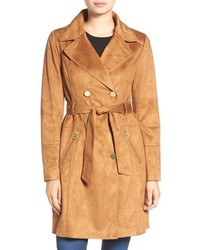 Suede trenchcoat original 9648833