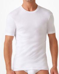 T-shirt à col rond blanc 2xist