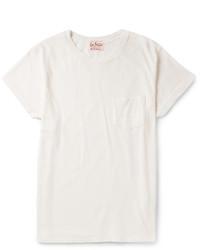 T-shirt à col rond blanc Levi's