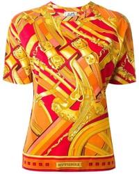 e3ca6757f7e0 Acheter t-shirt à col rond rouge femmes Hermes   Mode femmes