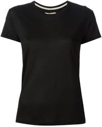 T shirt a col rond noir original 1311855