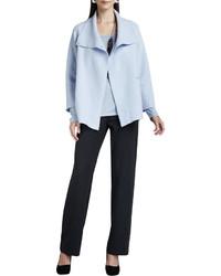 T-shirt à manche longue bleu clair Eileen Fisher