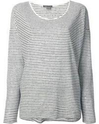 T shirt a manche longue noir et blanc original 4212634