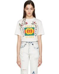 T-shirt blanc Gucci