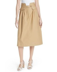 Sea Kamille Peplum Waist Skirt