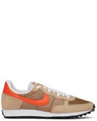 Nike Brown Challenger Og Low Top Sneakers