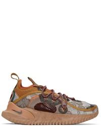 Nike Brown Flow 2020 Ispa Sneakers