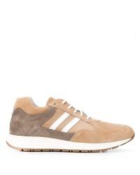 Eleventy Colour Block Low Top Sneakers