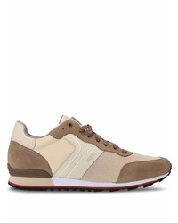 BOSS Suede Running Style Sneakers