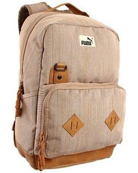 Puma Engineer Pmam1066 Backpack Bag Knapsack Tan