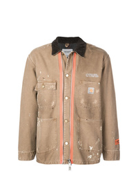 Heron Preston Carhartt Shirt Jacket