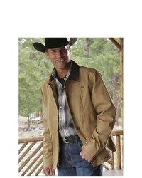 Miller Ranch Coat Outerwear Canva Jacket Tan Dwj2002000