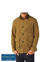 Pendleton Woolen Mills Pendleton Brownsville Jacket Tan