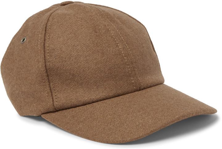 409a01fe0c2f70 Ami Wool Blend Baseball Cap, $125 | MR PORTER | Lookastic.com