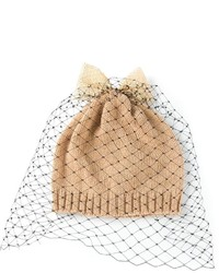 Bernstock Speirs Bow Veil Beanie Hat