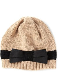Bernstock Speirs Stripe Bow Beanie Hat