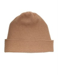 Wyatt Heather Grey Wool Blend Popcorn Stitch Beanie